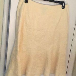 Lauren Ralph Lauren Skirts - Classic 100% linen fluted skirt